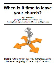 When is it time to leave your church?