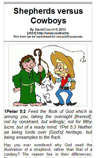 Tract Shepherd versus Cowboys