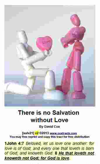 salv21 There is no Salvation without Love
