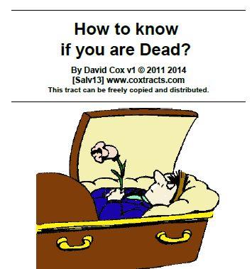 Spiritual Life versus spiritual death